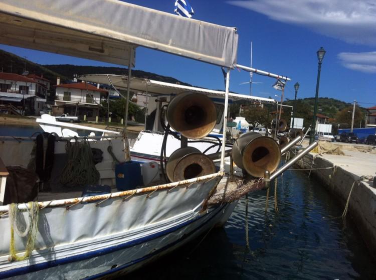 Fishing boat Halkidiki