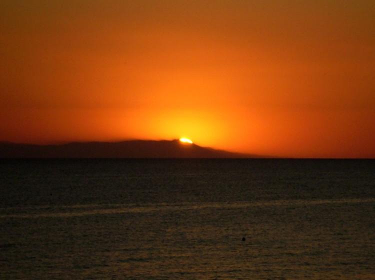 Sunset at Fourka Halkidiki